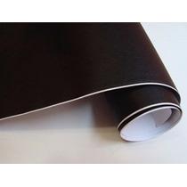 Adesivo Preto Fosco Moldável Envelopamento 100 X 100 Cm