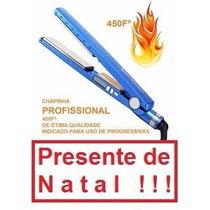 Chapinha Nanno Titanium Prancha Professional Original 1 1/4