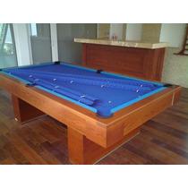 Mesa De Billar Convertible Pool Carambola Con Accesorios