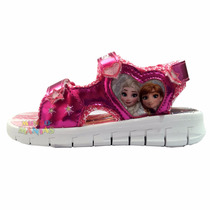 Sandalias Disney Frozen Con Luz Addnice Original Mundomanias