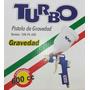 Pistola Para Pintar Por Gravedad Turbo 600 Cc