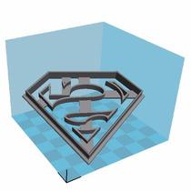 Cortante Galleta Superman