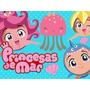 Kit Imprimible Candy Bar Princesas Del Mar Cumples Y Mas