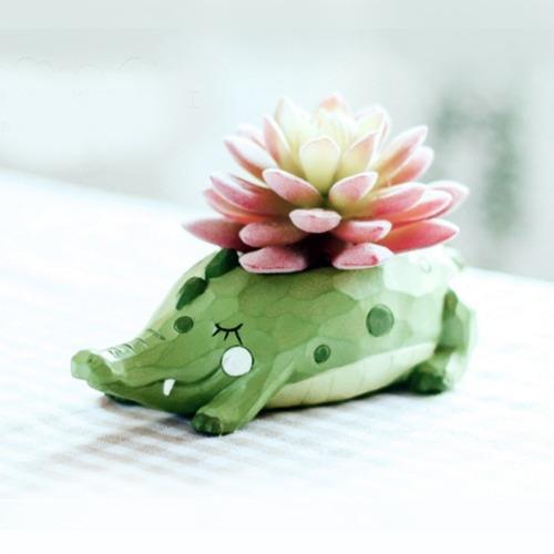 herramienta maceta flor hermosa casa jardin oficina resina