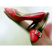 Sapato De Salto Vermelho: Lindo E Barato