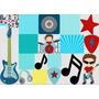 Kit Imprimible Estrella De Rock Star Full Fiesta 3x1