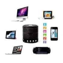 Caixinha Música Som Portátil Bluetooth Mp3 Fm Usb Pc 5w
