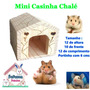 Casa Chalé - Hamster E Pequenos Roedoes