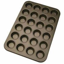 Charola Para 24 Mini Cupcakes Antiadherente Fondant