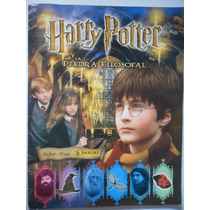 Album De Figuritas Harry Potter Y La Piedra Filosofal Lujo./