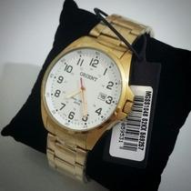 Relógio Orient Masculino Mgss1048 S2kx - Dourado