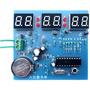 Relógio Digital Led Faça Você Mesmo Kit Montagem Eletrônica