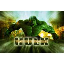 Painel Hulk Em Tecido 100 Cm X 140 Cm (50,00)