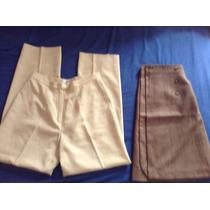 Pantalon Y Pollera Stefanel De Vestir