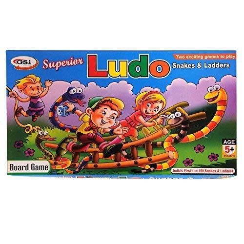 Gsi Ludo Snakes And Ladders Juego De Mesa Para Ninos Con