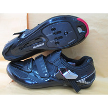 Zapatos Shimano De Ruta Mod. R-107 Talla 26.5 Cm.de Carbono