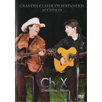 Dvd Chitãozinho & Xororó - Grandes Clássicos Sertanejos