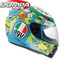Casco Agv K3 Wake Up Integral Valentino Rossi Gp Moto Dompa