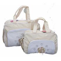 Bolsa Mala Saída Maternidade Kit Bebê Promoção Mv 3536