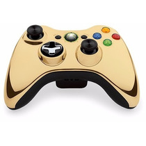 Xbox 360 Control Chrome Gold Dorado Games