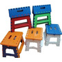 Banco Plastico Infantil Plegable Mediano Camping Regalos Aka