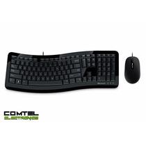 Combo Teclado Mouse Curve 3000 Microsoft Usb 7zj-00004