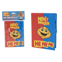 Cuaderno - Monster Miel Paperback Nota Papel Pista Kids Fun