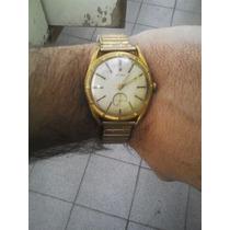 Vendo Lindo Reloj Acron A Cuerda Y Chapado En Oro Año 70