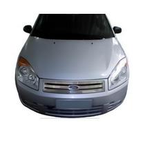 Grade Cromada Ford Fiesta 07/010 Direto Da Fabrica + Brinde