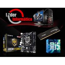Kit Placa Mãe + Processador I5 6400+ Memoria 8gb + Hd 1tb