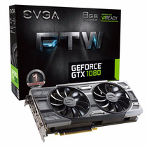Placa De Vídeo Evga Geforce Gtx 1080 8gb Ftw Gaming Acx 3.0