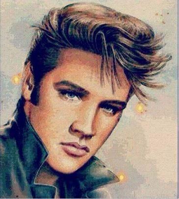 Pintura Cuadro Elvis Presley Punto De Cruz Diamante - $ 249.00 en ...