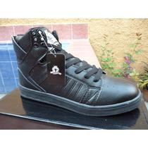 Botines Rasta Shoes Ara-005 Negro Originales Bipiel Zapatos