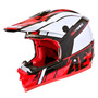 Capacete Asw Image Race 2016 Size 55/56 Red Mx Cross Trilha