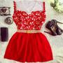 Vermelho - Branco