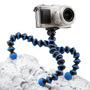 Trípode Flexible Universal Cámara, Tipo Gorillapod - Azul