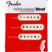 Set De Captadores Para Guitarra N3 Noiseless Strat Fender