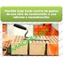 Plantilla Hoja Excel Control Gastos Construcción Remodelacio