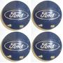Tapa Centro Llanta Ford Focus Ecosport Kinet Azul Logo 54 Mm