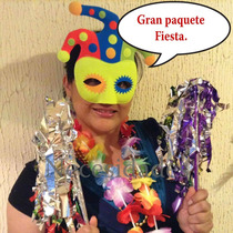 Paquete Carnaval,batucada,maraca,antifaz, Boda.