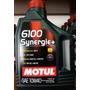 Aceite Motul 6100 10w40 X 2 Litros Semi Sintético