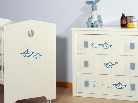 Set de vinilos decorativos para decorar paredes muebles for Vinilos muebles