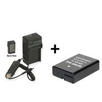 Kit Bateria + Carregador Enel14 Câmera Digital Nikon Enel 14