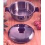 Olla De 3 Litros De Acero Quirúrgico Al Cromo Niquel