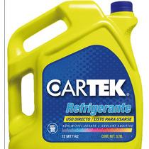 Anticongelante Refrigerante Cartek Galon 3.78lts