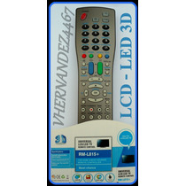 Control Remoto Tv Universal Lcd Led Rm-l815 Nuevo En Blister