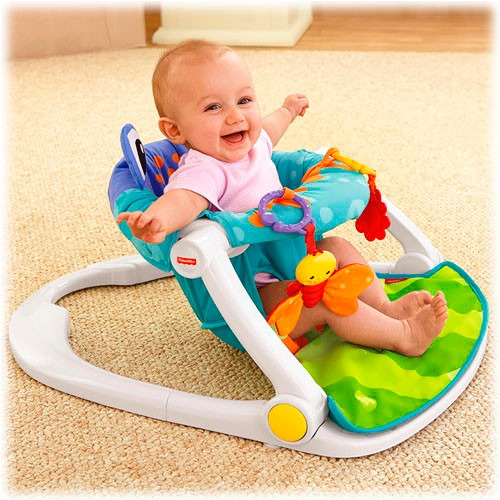 Silla fisher price sit me up asiento ranita en for Silla fisher price