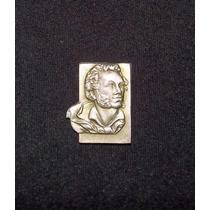 Rusia - Pin Busto Alexander Pushkin