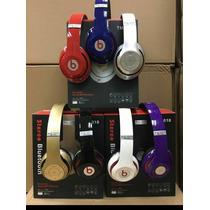 Audifonos Beats Con Microsd Bluetooth Radio Microfono Tm-010