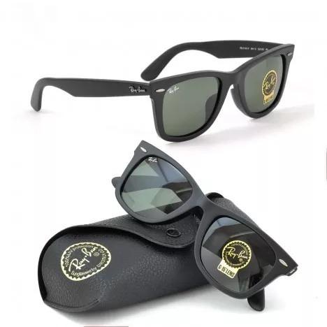 a3530455f Óculos Ray Ban Wayfarer 2140 Preto/ (envio Em 24 Horas) - R$ 217,99 ...